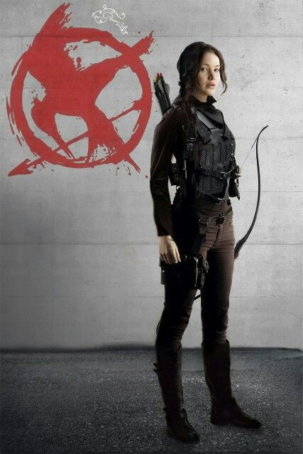 Katniss Everdeen the face of a revolution #JOINTHEMOCKINGJAY #JOINTHEFIGHT
