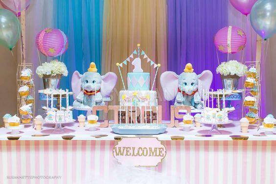 Dumbo Circus Birthday Party Ideas   Photo 1 of 116