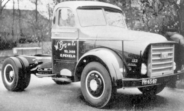 Wessel Bos - Oude Pekela DAF Torpedo