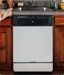 Everyone knows how valuable space is in a kitchen. GE has come up with this genious idea of an Under the Sink Dishwasher! Plus it has a hard food disposer - I'm thrilled!