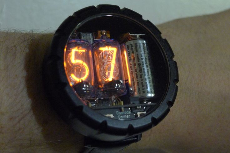 Nixie Tube Watch, I've wanted one for a while.  http://www.cathodecorner.com/nixiewatch/