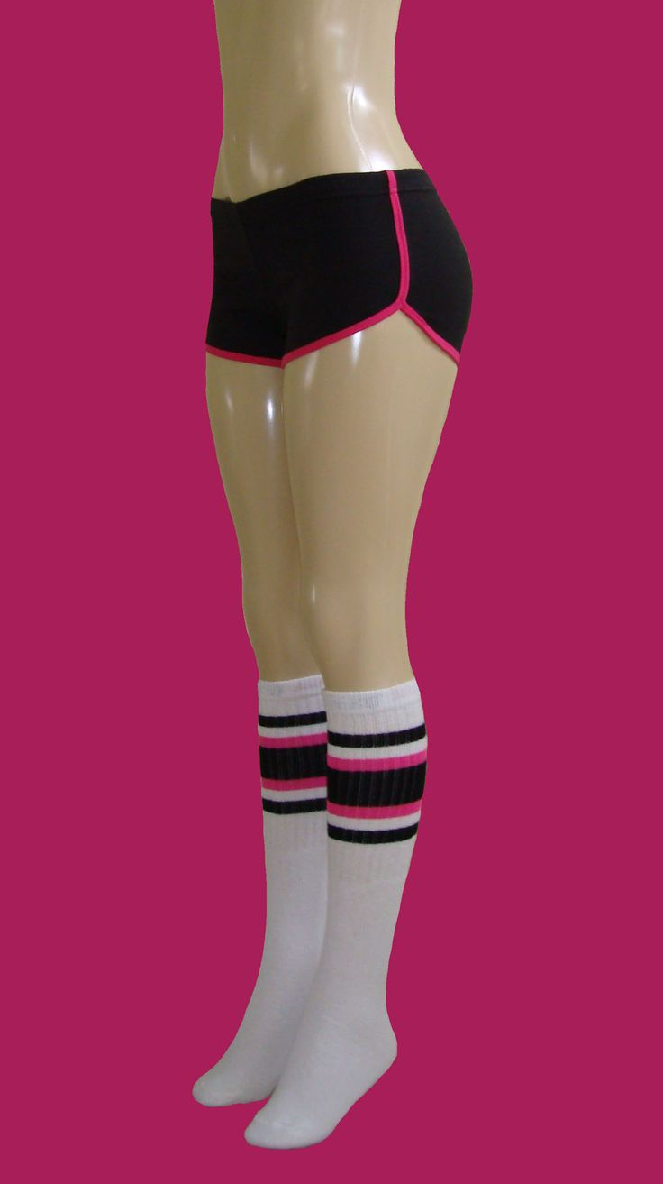 Adult tube knee socks