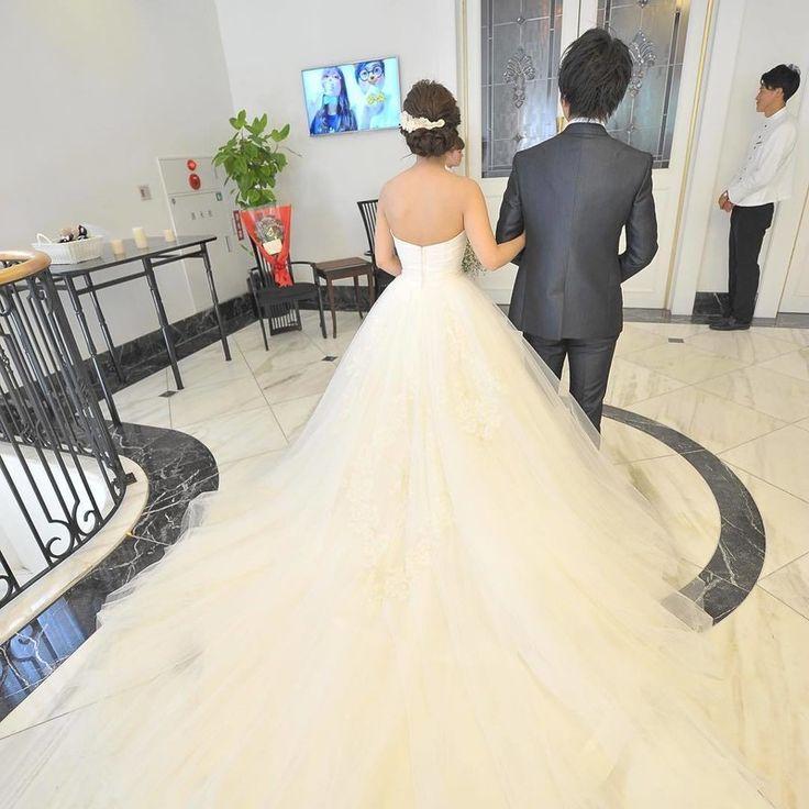 【結婚式レポ~挙式編】シンプルでナチュラルな中に可愛いさを感じる☆真っ白なチャペルウェディング