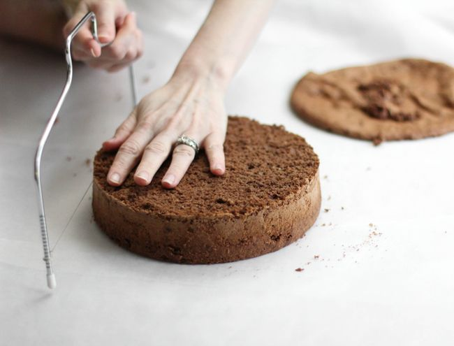 Посыпать печет: Шоколадно-малиновый Баварский торт