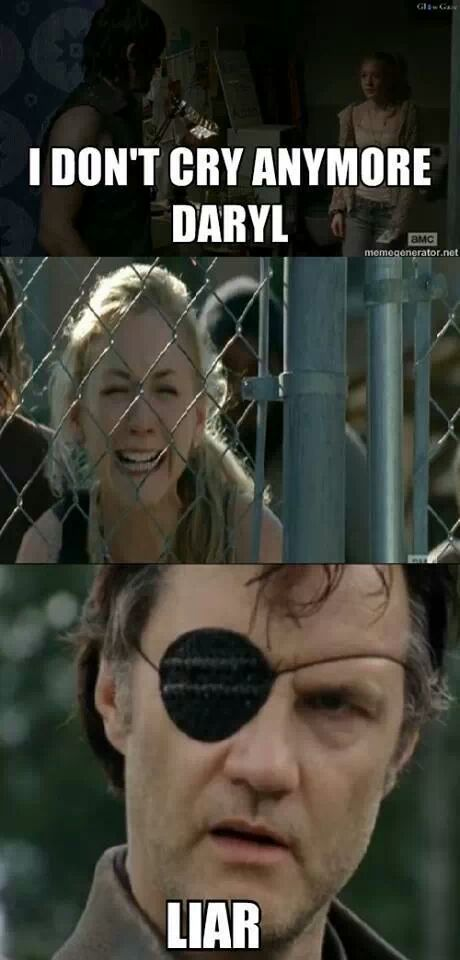 Beth Dies Walking Dead Meme