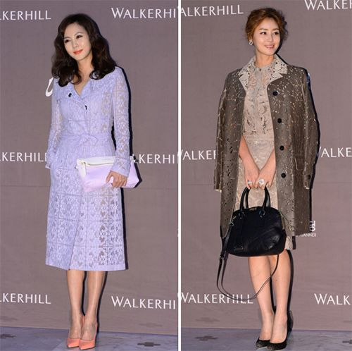 스타들의 하객패션, '러블리' 김남주vs클래식 '김성령' http://www.fashionseoul.com/?p=25158