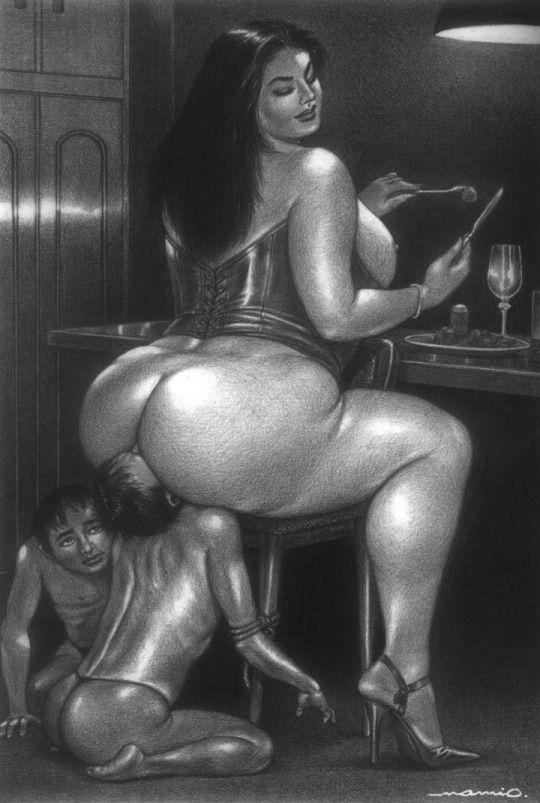 Asses drawings fat in erotic