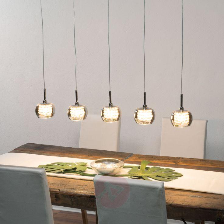 Moderne Hangeleuchte Arian Von Schuller Braun Led Hangeleuchte Lampen Und Led Hangelampen