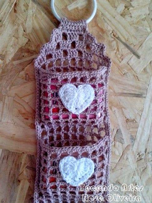 Tecendo Artes em Crochet: Porta Sabonetes Com Duna!