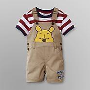 Disney Baby Winnie The Pooh Infant Boys Overalls Shorts Set at Kmart.com $15