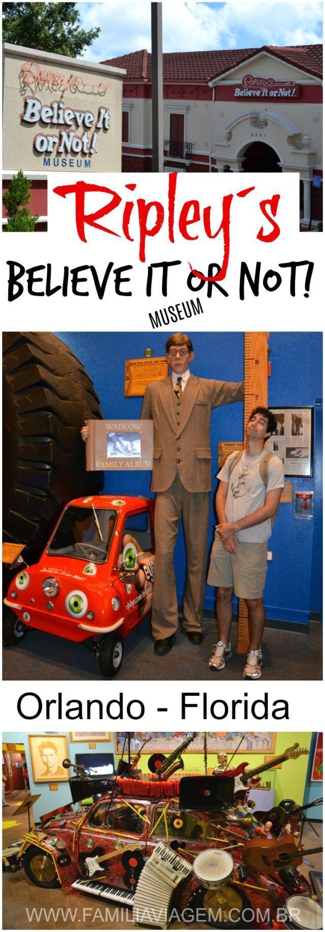O Ripley's Believe It or Not! Museum chama a atenção de quem passa pela International Drive, em Orlando. É a famosa casa torta e que abriga uma vasta coleção de objetos curiosos, bizarros e divertidos. É uma atração que promete diversão pra toda a Família. (Orlando, Florida, Estados Unidos)