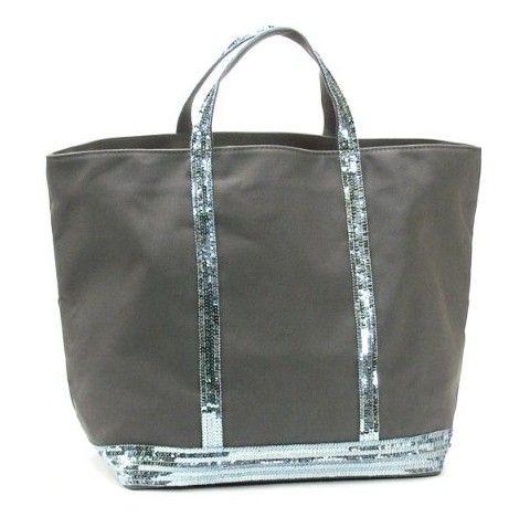 sac vanessa bruno grand toile et paillette gris pas cher bag pinterest vanessa bruno. Black Bedroom Furniture Sets. Home Design Ideas