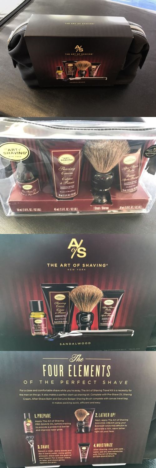 Shaving and Grooming Kits and Sets: Art Of Shaving Kit -> BUY IT NOW ONLY: $89 on eBay!
