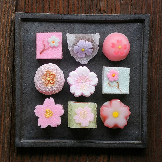 Sakura Themed Jelly Candies #FlowerShop