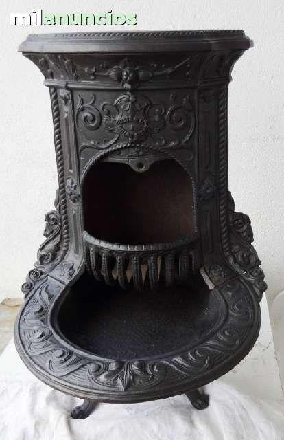 Estufas antiguas en hierro fundido foto 1 venta de for Estufa hierro fundido
