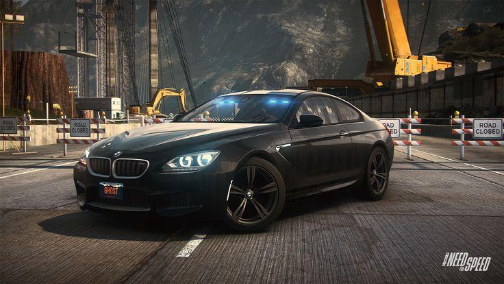 NFS Rivals: The BMW M6 Coupé as a Cop