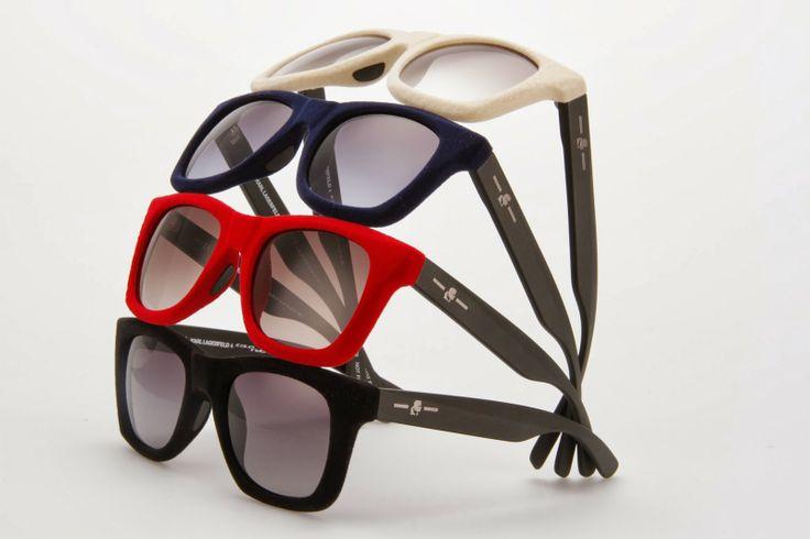 Italia Independent Karl Lagerfeld solbrille kollektion.