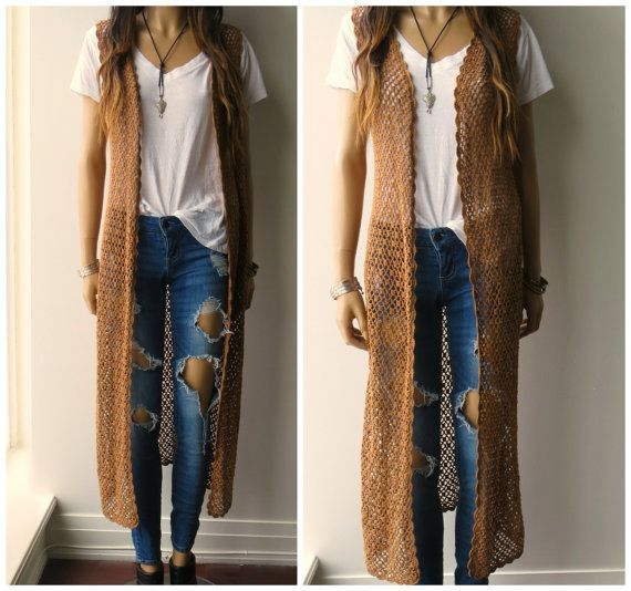 Plus Size Duster Sweater