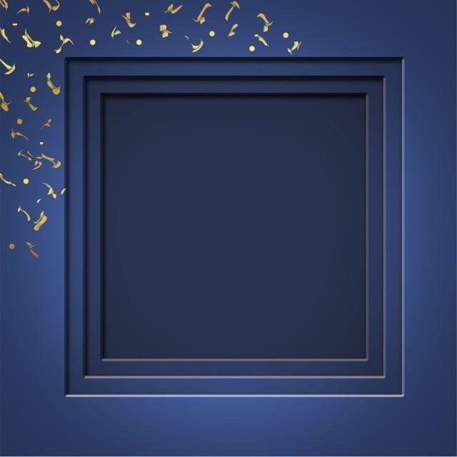 Frame Blue Color With Gold Pattern Background Frame Border Png Transparent Clipart Image And Psd File For Free Download Blue Texture Background Gold Pattern Frame
