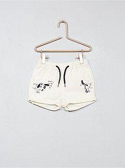 9bf2133d2 Niño 0-36 meses - Pantalón corto estampado de sarga - Kiabi
