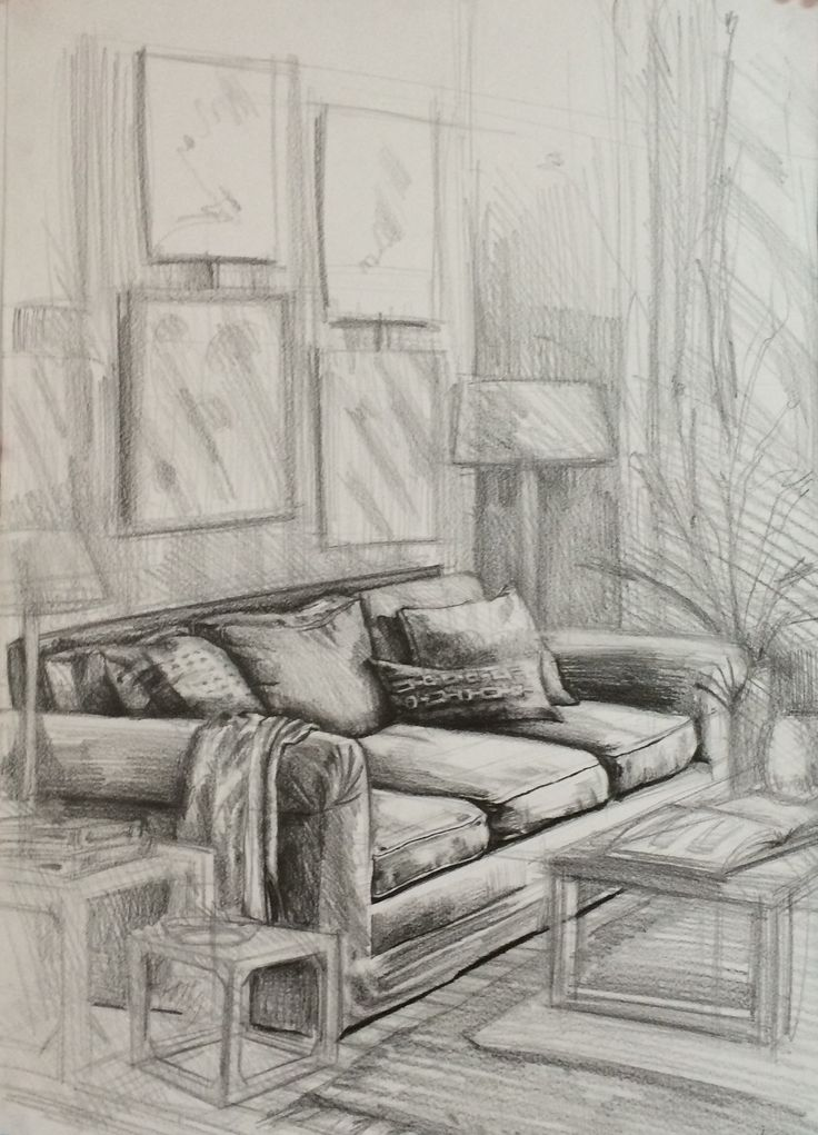 Room Drawing Pencil: 37 Best Sketch / Marker / Color Pencils / Drawing Images