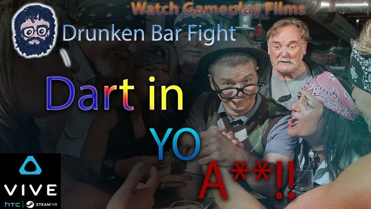 #VR #VRGames #Drone #Gaming DART IN YO A**!! (DRUNKEN BAR FIGHT VR) HTC VIVE Beat Down, Beat up, beatdown, beer, booze, boxing, Bruce Willis, Bruising, comedy, Drunk, Drunken Bar Fight, Drunken Fighting, Epic, fight, Fighting, Fox News, Funny, Funny game play, funny games, Funny playthroughs, funny vr moments, game, gameplay, Gameplay Flims, games, hilarious, HTC, htc vive, joke, jokes, Kick, Kicking, laugh, laughing, lmao, lol, Martial Arts, online gamer, PC, punch, Punchin