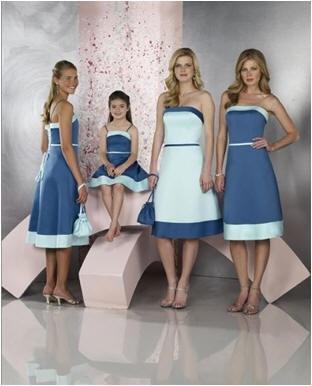 jr bride maids dresses