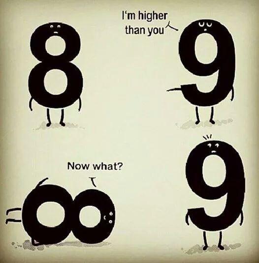 ¡Soy más grande que tú! ¿Seguro?