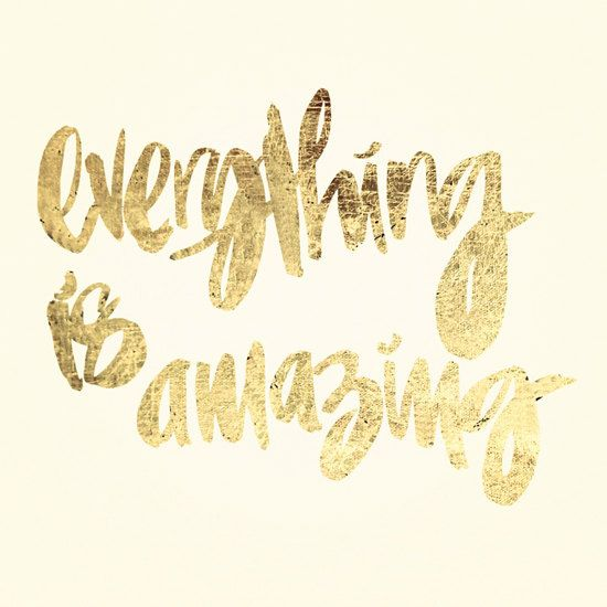 everything is amazing by The Vaguely (via Creature Comforts)