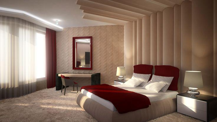 Bedroom Prague Central Park - Inarchi | Luxury interior design