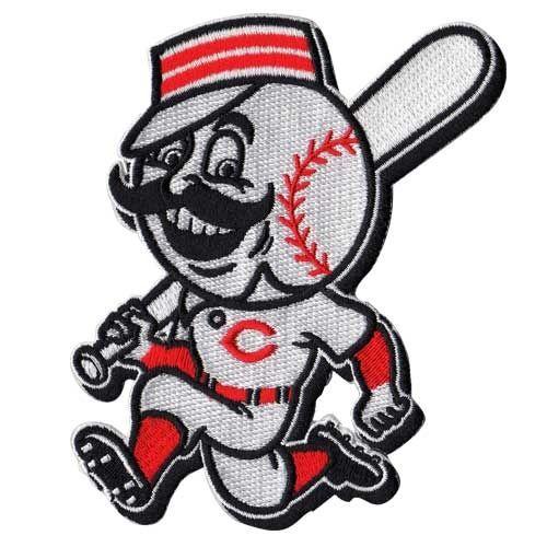 Cincinnati Reds Team | Cincinnati Reds Running Man Team MLB Baseball Sleeve Patch
