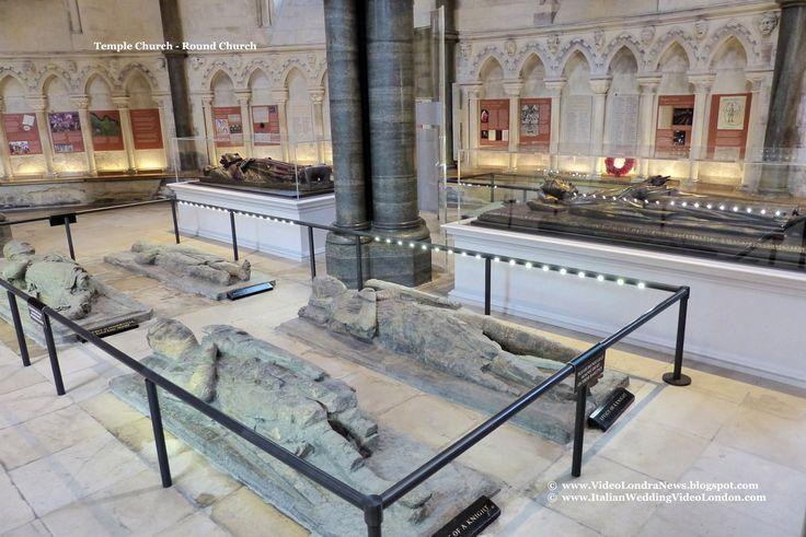 Temple Church - Round Church *** Temple Church, a Londra la chiesa dei Templari *** #Londra #London #TempleChurch *** Sul pavimento della zona centrale si trovano 10 lastre lapidee con sopra scolpiti in altorilievo altrettanti cavalieri Templari o presunti tali, raffigurati giacenti, che trovarono sepoltura nella chiesa.