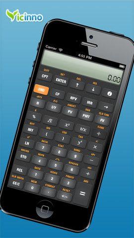 Calculadora para operaciones financieras