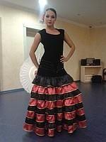 Женское испанское платье