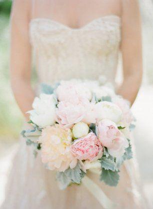 Воздушный свадебный букет