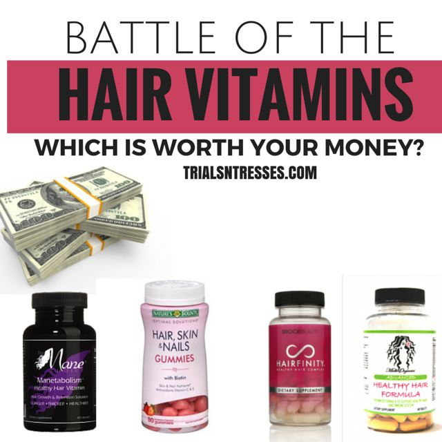 It's the battle of the hair vitamins. Which one out of these four are worth your money? Manetabolism, Hairfinity, Nature's Bounty or Mielle Organics?
