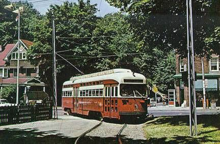 Toronto Streetcar- near my childhood home.