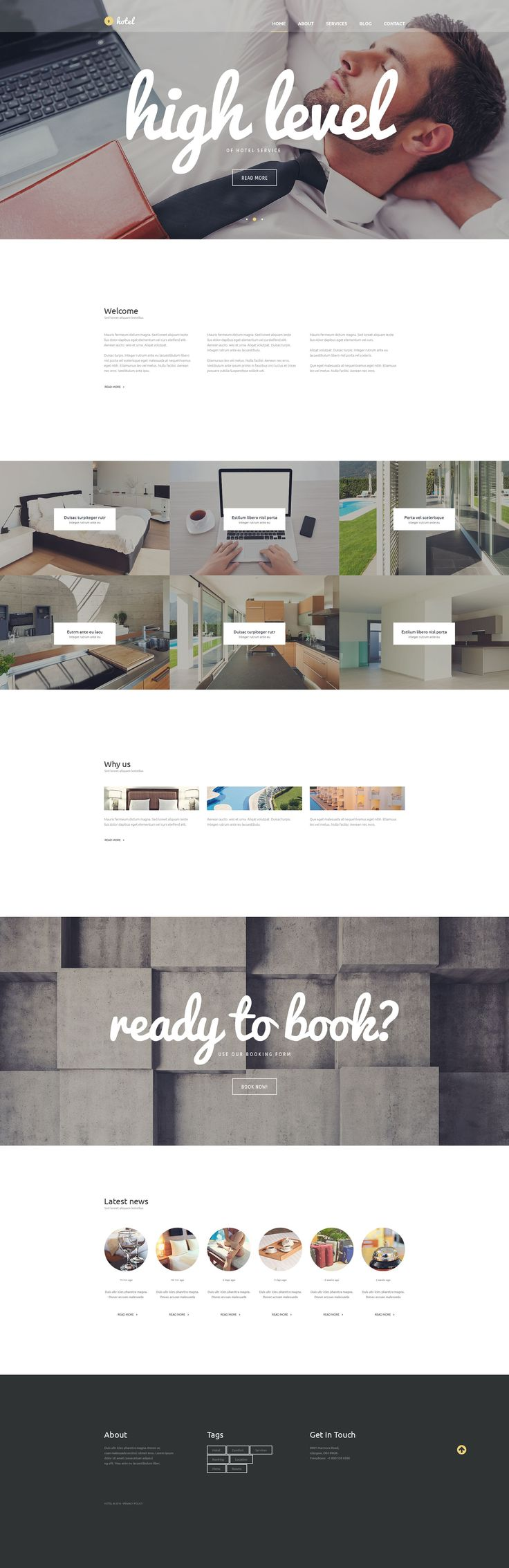 91 best Hotel Website Templates images on Pinterest | Design ...