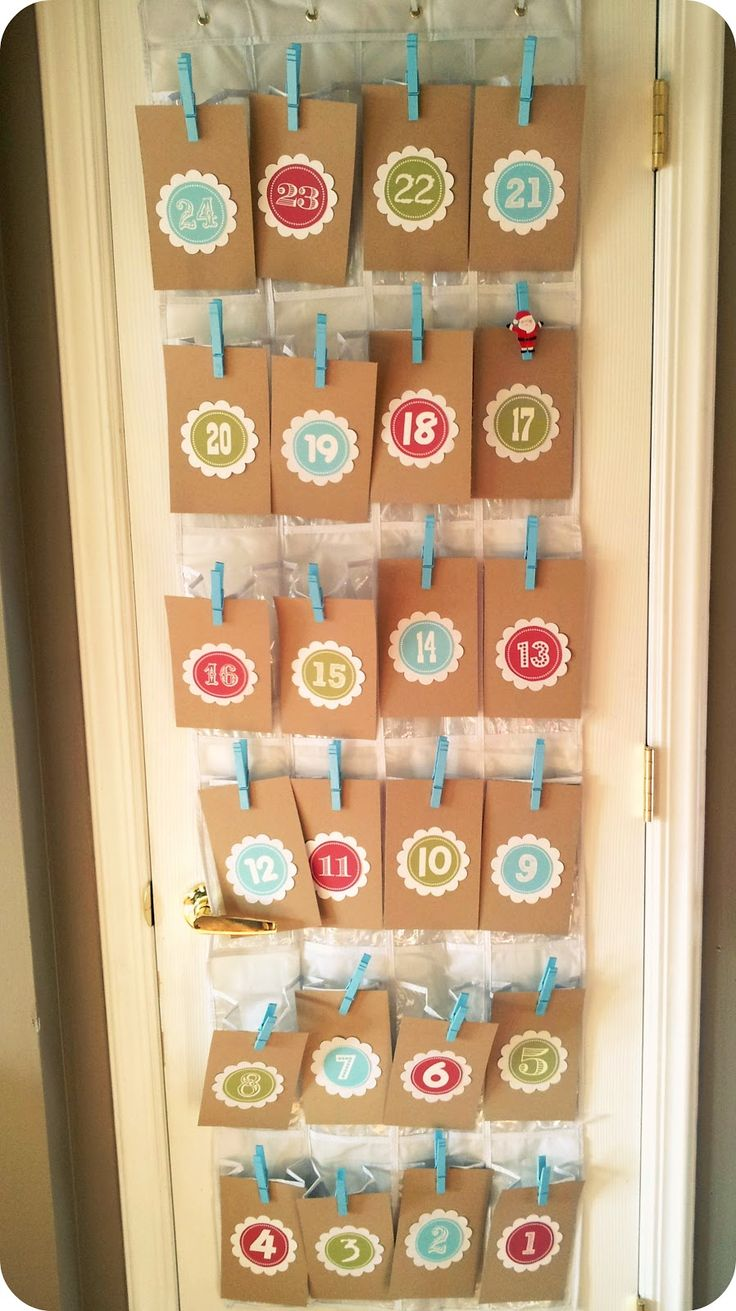 17 best images about advent calendar on pinterest muslin for Pinterest advent
