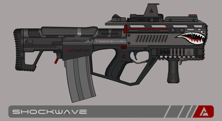 Quicksilver Industries: 'Tigershark' Auto Shotgun by Shockwave9001.deviantart.com on @DeviantArt