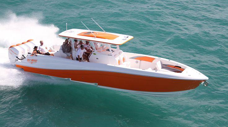 Big Boy Toys Boats : Deep impact custom center console boats