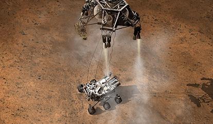 Η ΝΑΣΑ έδωσε στη δημοσιότητα βίντεο από την προσεδάφιση του οχήματος επιφανείας του Άρη Curiosity