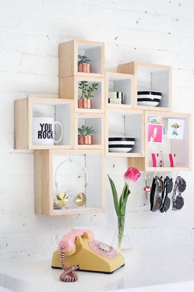 DIY Storage Ideas - DIY Out-The-Door Box Storage- Home Decor and Organizing Projects for The Bedroom, Bathroom, Living Room, Panty and Storage Projects - Tutorials and Step by Step Instructions  for Do It Yourself Organization http://diyjoy.com/diy-storage-ideas-organization