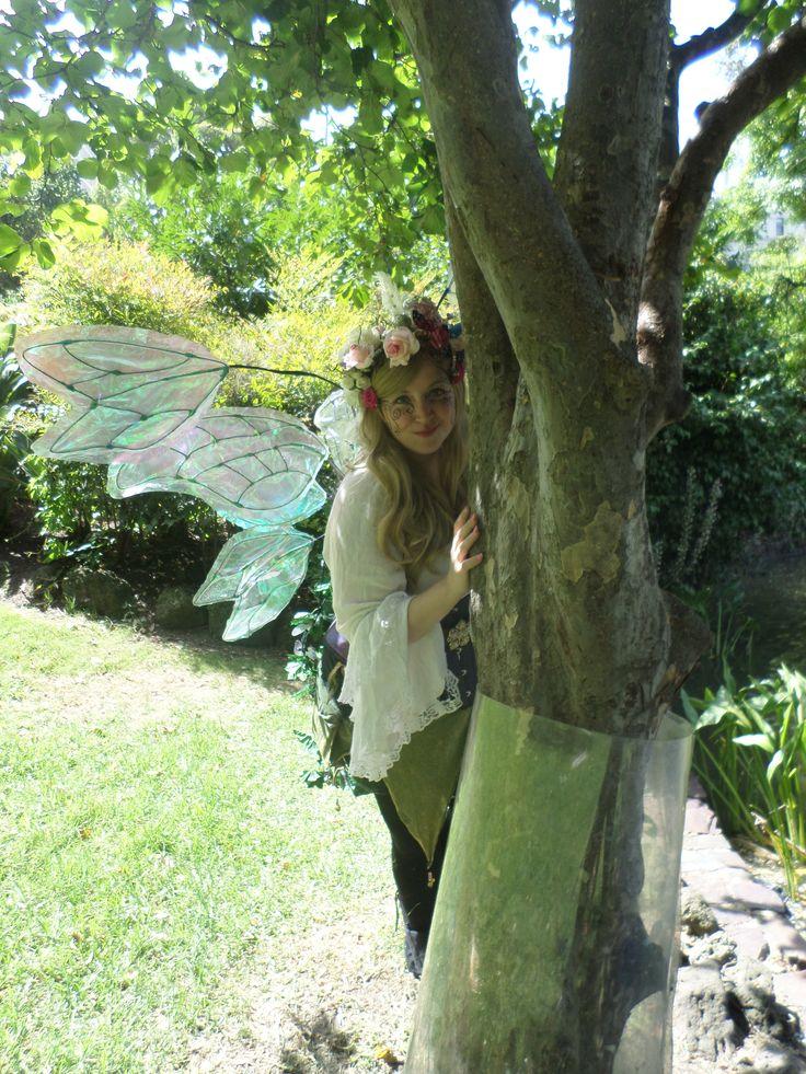 At the Midsummer Faerie Rade 2015 in Melbourne. #faerie #melbourne