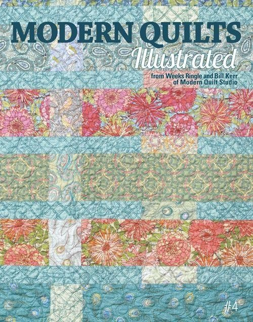 60 best Modern Quilts Illustrated images on Pinterest | Stitching ... : modern quilting magazine - Adamdwight.com
