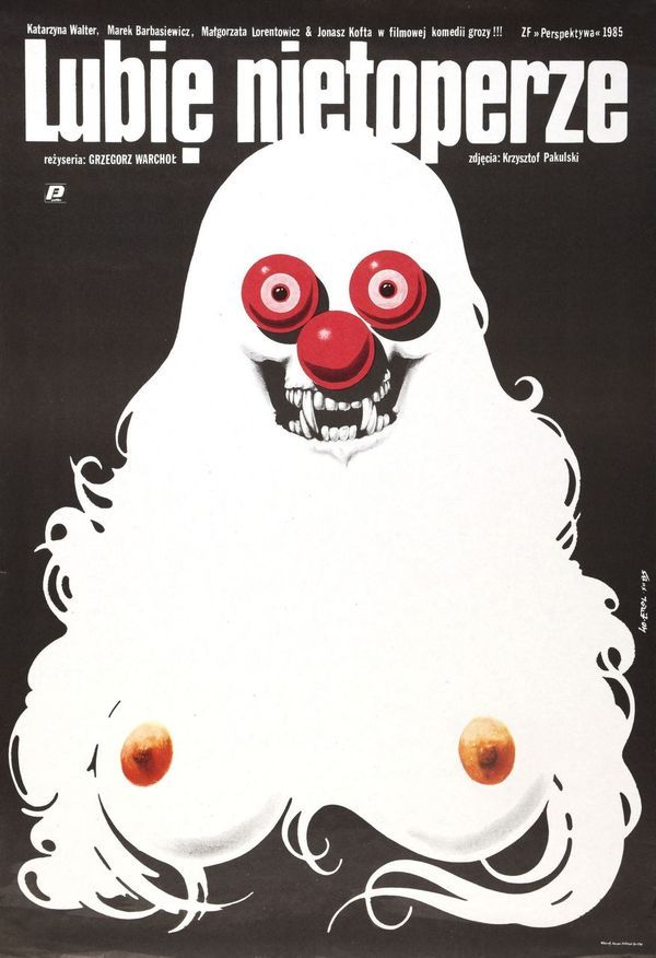 Lubie: Movie Posters, Movie Horror, Polish Posters, Polish Film, Picture-Black Posters, Lubi Nietoperz, Film Posters, Horror Movie, Movie Art