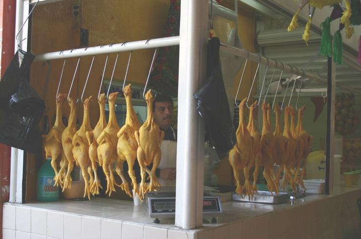 Chicken stand  Central Market  Orizaba, Veracruz