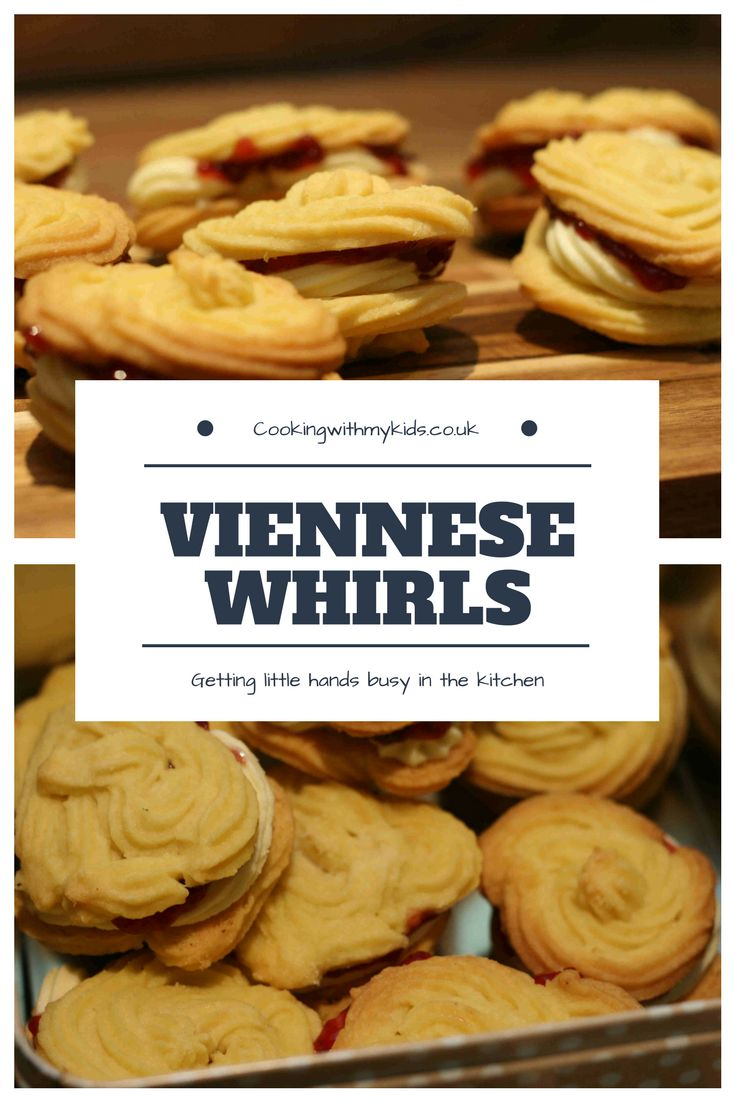 Viennese whirls #baking #biscuits #cookies #easyrecipe