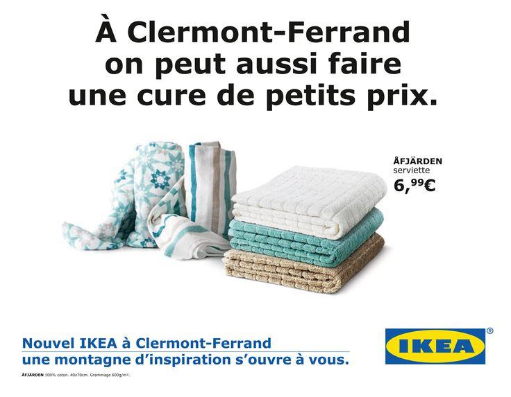 Plus de 1000 id es propos de campagnes de publicit sur pinterest communications marketing - Ouverture ikea clermont ferrand ...