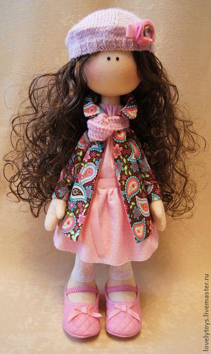 Bonecas Artesanais colecionável. Mestres Feira - boneca Têxtil artesanal Emma. Handmade.